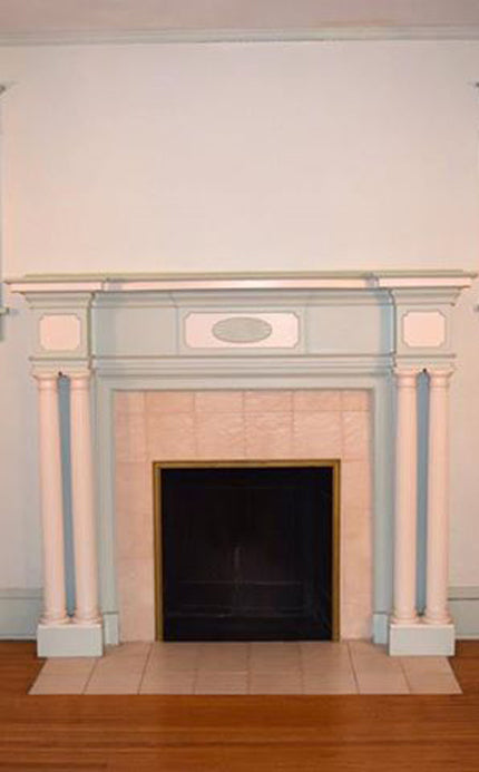 Fireplace Design Before