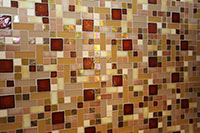 Glass Tile Closeup