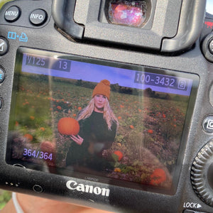 Behind The Scenes - Halloween Photoshoot At The Sompting Pumpkin Picking Patch
