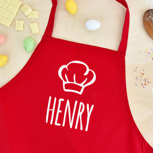 Personalised Name Kids Children's Apron