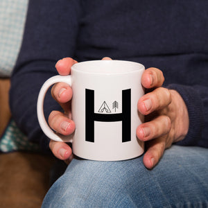 Adventure Alphabet Personalised Ceramic Mug