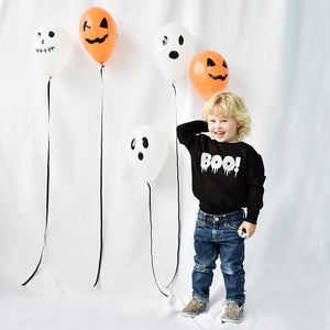 'Boo!' Halloween Children's Jumper Sweatshirt