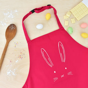 Children's Easter Bunny Rabbit Apron