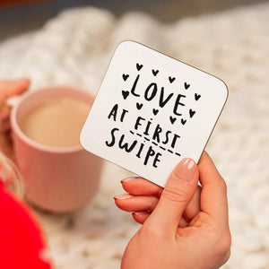 Love At First Swipe' Online Dating Relationship Coaster