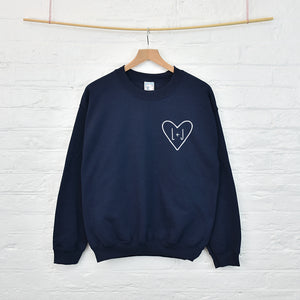 Personalised Couples Initial Sweatshirt