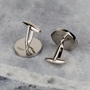 Farthing 70th Birthday 1950 Coin Cufflinks