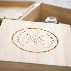 'Grandad And Me' Wooden Adventure Memory Box