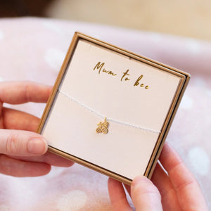 'Mum To Bee' Bumble Bee Necklace
