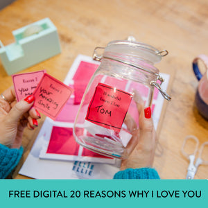FREE Digital Download Reasons Why I Love You Jar