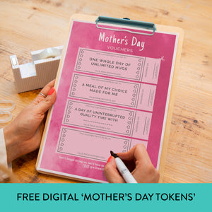 FREE Digital Download Mother's Day Tokens