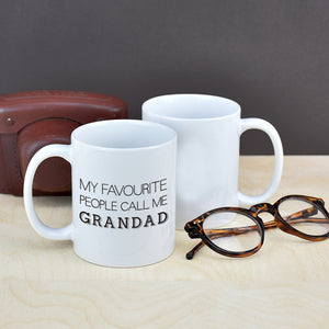 My Favourite People Grandad - Grandpa Mug