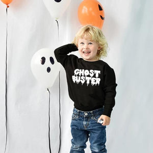 'Ghost Buster' Children's Halloween Jumper Sweatshirt