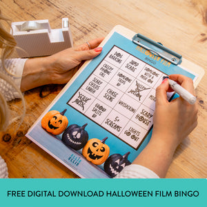 FREE Digital Download Halloween Film Bingo