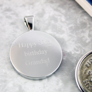 Sixpence 80th Birthday 1940 Coin Keyring