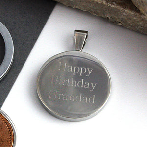 Sixpence 1930 90th Birthday Coin Keyring