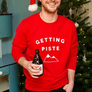 'Getting Piste' Unisex Sweatshirt
