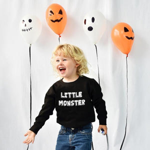 'Little Monster' Children's Halloween Jumper Sweatshirt