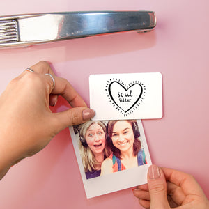 'Soul Sister' Friendship Fridge Magnet