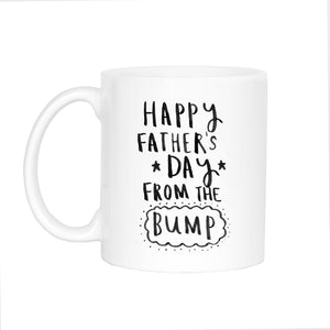 'Happy Father's Day From The Bump' Mug