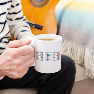 'Dad' Guitar Chords Mug