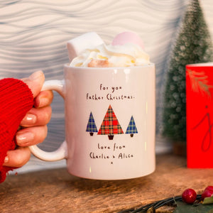 Christmas Eve Personalised Santa Mug