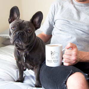 Best Dog Dad Illustration Breed Mug