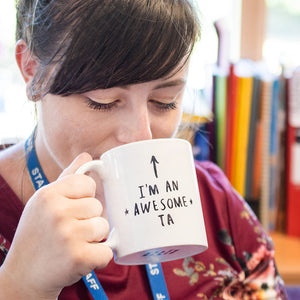 'I Am An Awesome Ta' Teaching Assistant Mug