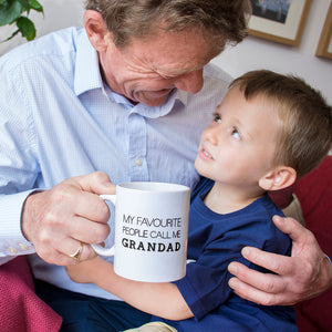 Favourite People Grandad - Grandpa Mug
