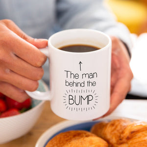 Dad To Be 'Man Behind The Bump' Mug