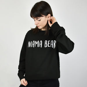 Mama Bear Jumper Sweatshirt