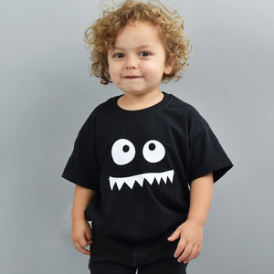Monster Face Childrens T Shirt