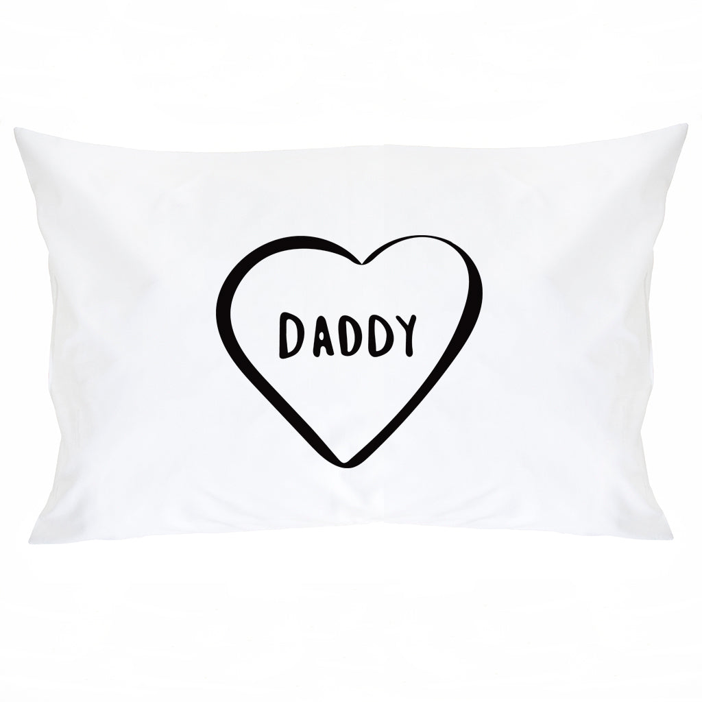 Mummy Daddy And Me Pillow Case Set