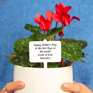 Personalised Message Mother's Day Plant Marker