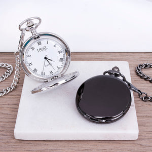 Daddy's Time Is Special Time Personalised Pocket Watch