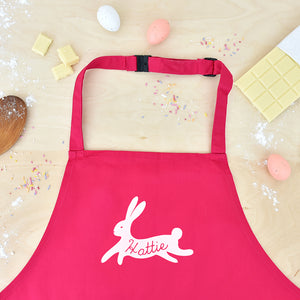 Children's Personalised Bunny Rabbit Apron