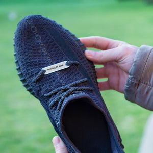 Personalised Metal Shoe Tag