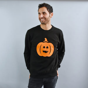 Pumpkin Unisex Halloween Sweatshirt Jumper