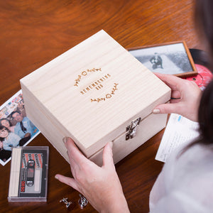 Remembrance Personalised Name Memory Box