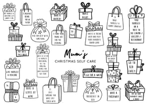 Mum Self Care Reusable Christmas Advent Calendar