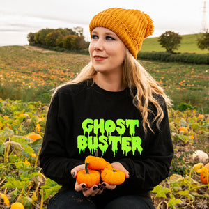 'Ghost Buster' Unisex Halloween Sweatshirt Jumper