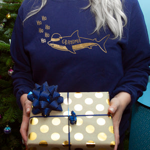 Adult Christmas Shark Jumper