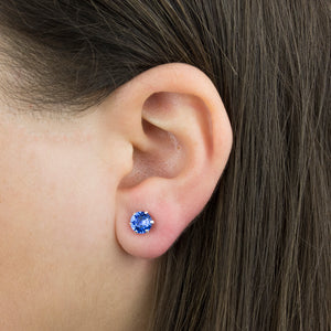 Birthstone Characteristic Swarovski Studs Earrings