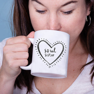 'Soul Sister' Friendship Mug