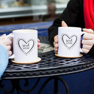 'Soul Sisters' Friendship Mug Set