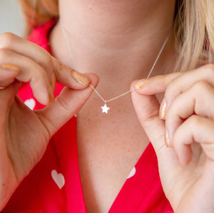 Amazing Mum 'Mumazing' Star Silver Necklace