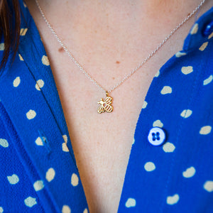 'You're The Bee's Knees' Bumble Bee Necklace