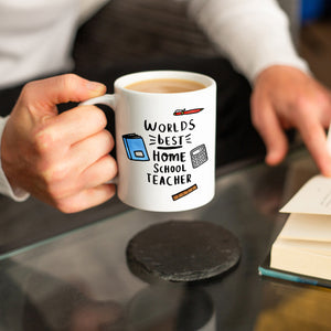 'World's Best Home School Teacher' Mug