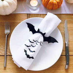 Halloween Bat Napkins Set Of Two