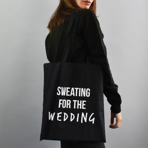 "Personalised ""Sweating For The..."" Tote Bag"