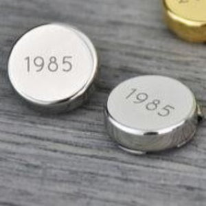 Milestone Birthday Year Button Covers